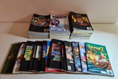 Manuals N64